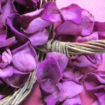 Mini Purple Rose Petals - 1 Litre